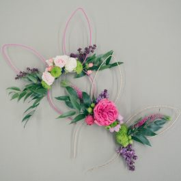 DIY Floral Easter Bunny Ears