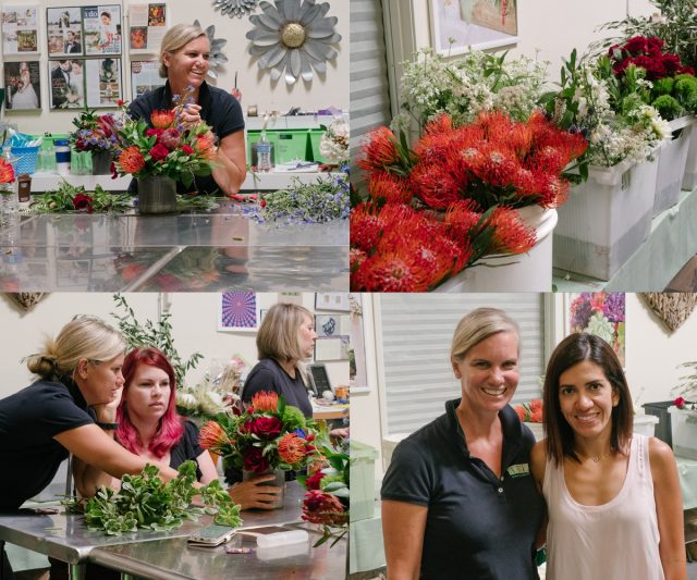 Pictures from the Prolific Proteas workshop held at the Flower Duet South Bay Studio with Kit Wertz